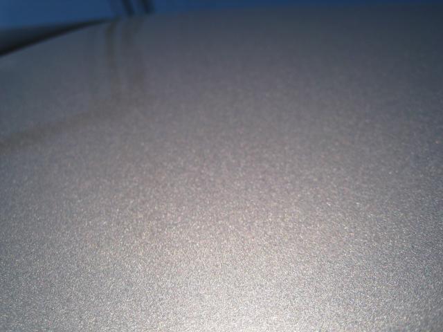 三菱i(アイ)塗装面