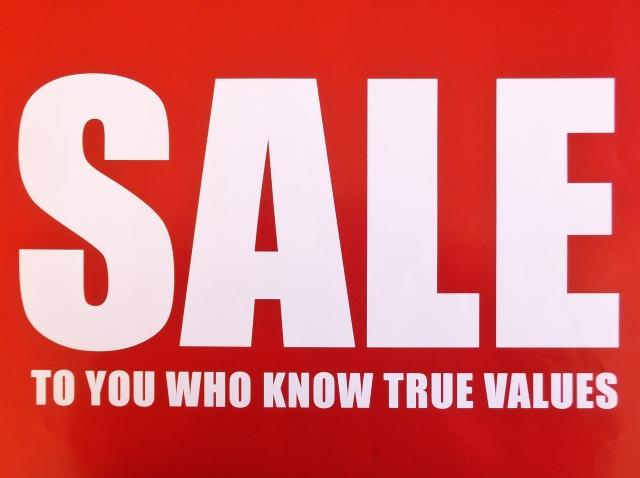 sale セールボード