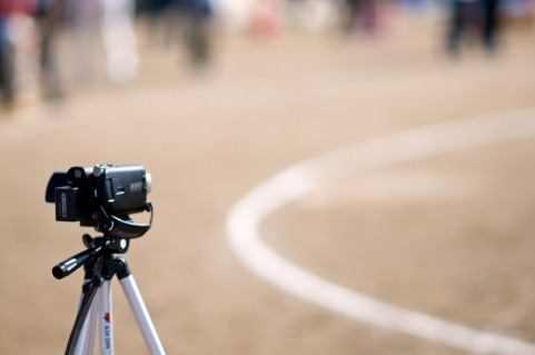 デジタルビデオカメラ、撮影