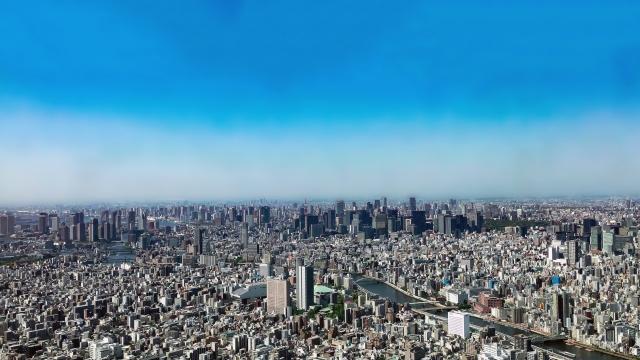 東京、街並み