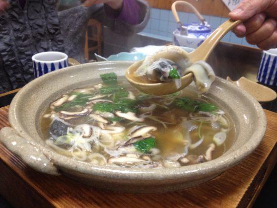 スッポン料理、スープ