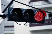 赤信号、信号機