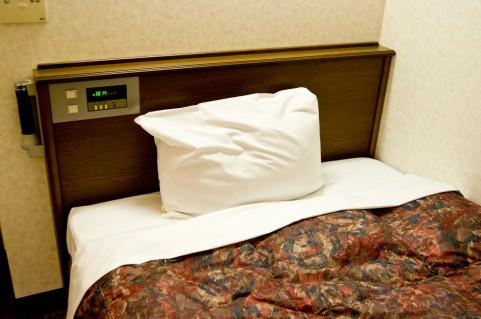 ベッド-風邪