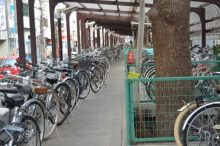 駐輪場,自転車