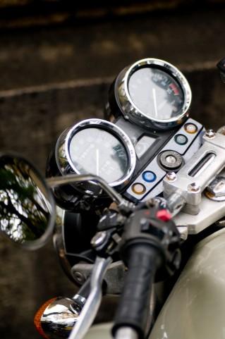 バイク、メーター周り