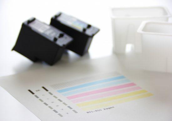 インクジェットプリンター、テストプリント印刷