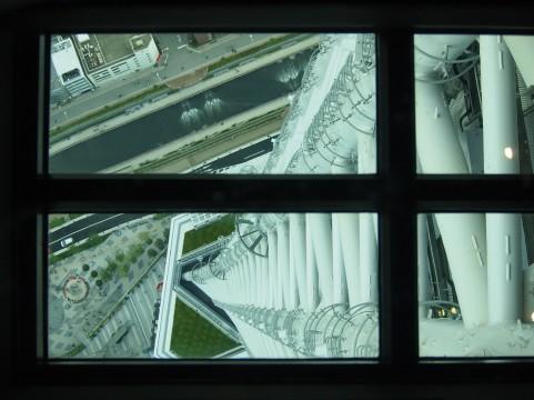 東京スカイツリー、ガラスの床