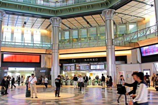 東京駅構内、丸の内