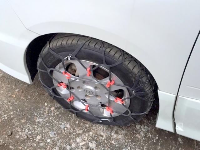 樹脂製(ウレタン)タイヤチェーン