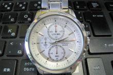セイコーSEIKOクオーツ式クロノグラフ腕時計-4T57-00C0