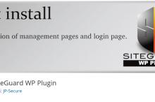SiteGuard WP Plugin for WordPress/不正アクセスからワードプレスを守るプラグイン