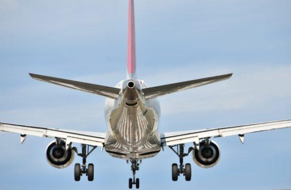 飛行機の離陸