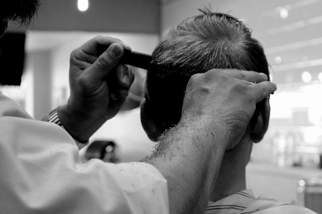 男性美容師