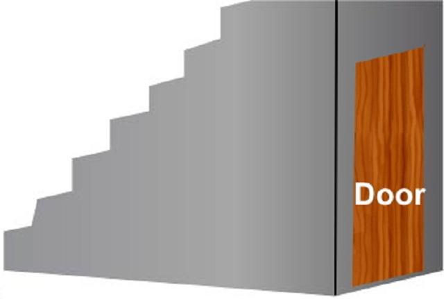 箱階段の階段下収納Type2