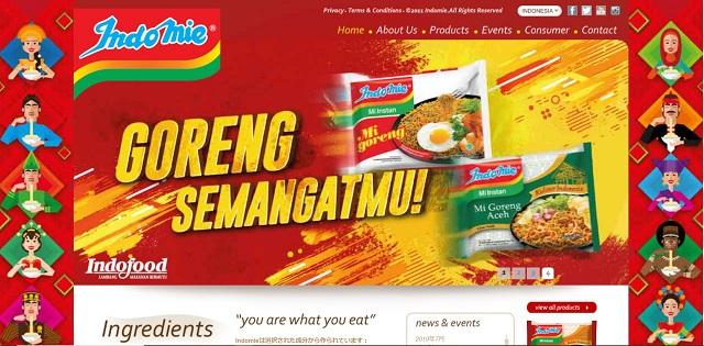 Indomie official site インドミーオフィシャルサイト